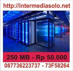 Hosting 250 MB