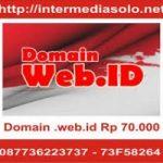 Domain.web.id Rp 70.000