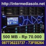 Hosting 500 MB Murah Rp 70.000
