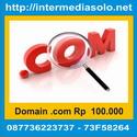 Domain .com Rp 100.000