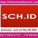 Domain .sch.id Rp 80.000