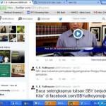 SBY Berkicau di Akun Tweeter tentang Pengangkatan Kapolri dan Pembersihan Rezim SBY