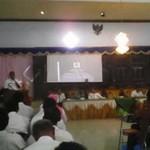 Seluruh Perangkat Desa diGembleng 2 hari tentang Alokasi Dana Desa
