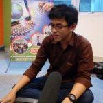 Brian jikustik Isi Workshop Videografi di AMIK BSI Yogyakarta