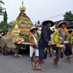 Kirab Budaya Desa Lencoh kecamatan Selo Boyolali