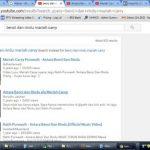 Mariah Carry Menyanyikan Lagu Benci Tapi Rindu di Youtube