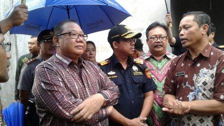 Menteri koperasi berkunjung ke Tumang,Cepogo